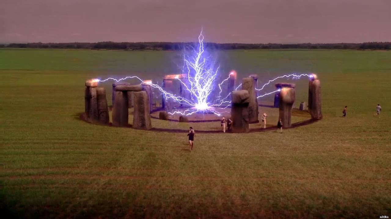 The energy inside Stonehenge is activated in Stonehenge Apocalypse (2010)