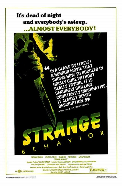 Strange Behavior (1981) poster