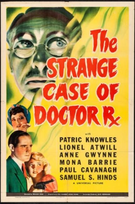 The Strange Case of Doctor Rx (1942) poster