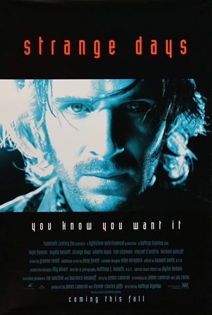 Strange Days (1995) poster