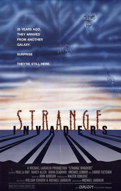Strange Invaders (1983) poster