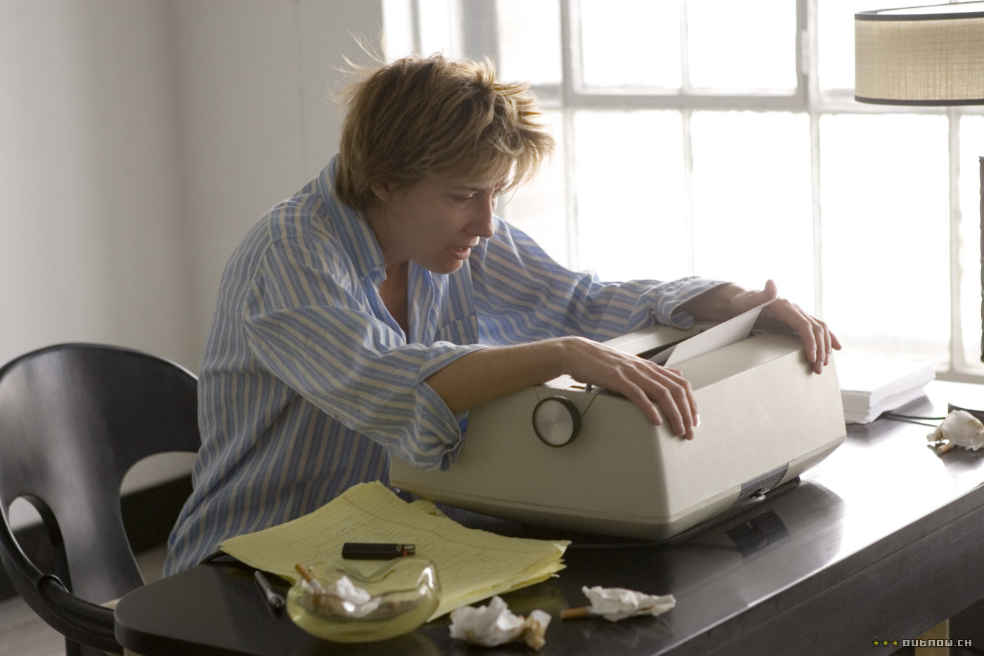 Emma Thompson as the author of the book in Stranger Than Fiction (2006)
