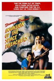 Strangest Dreams: Invasion of the Space Preachers (1990) poster
