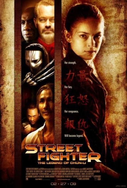Street Fighter: The Legend of Chun-Li (2009) poster