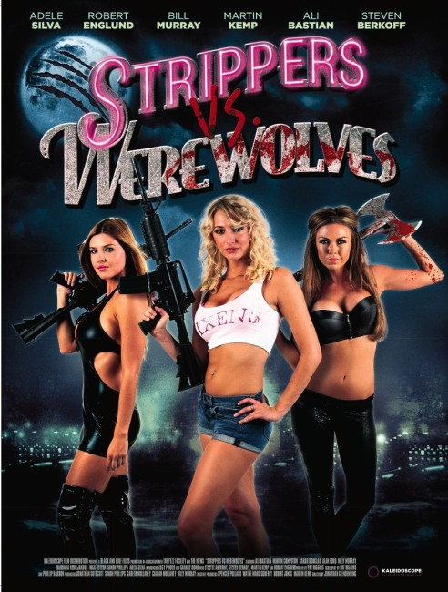 Strippers vs. Werewolves (2012) poster