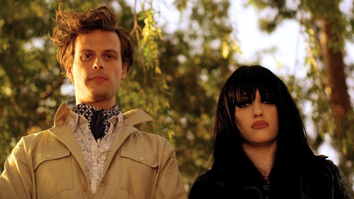Matthew Gray Gubler and Kat Dennings in Suburban Gothic (2014)