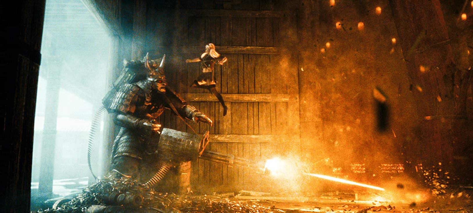 Emily Browning vs a giant samurai in Sucker Punch (2011)