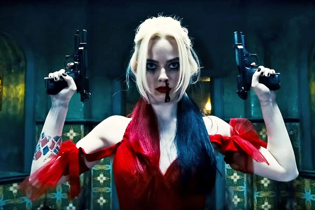 Margot Robbie as Harley Quinn in The Suicide Squad (2021)