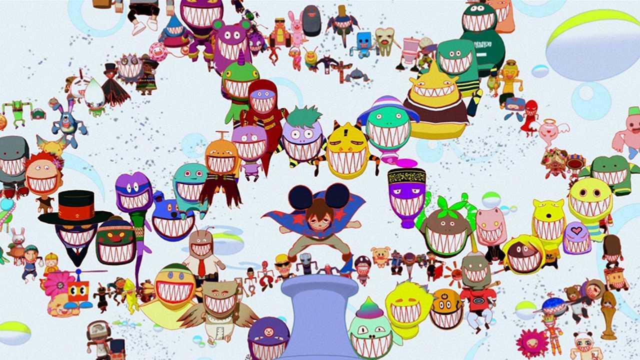 The avatars inside OZ in Summer Wars (2009)
