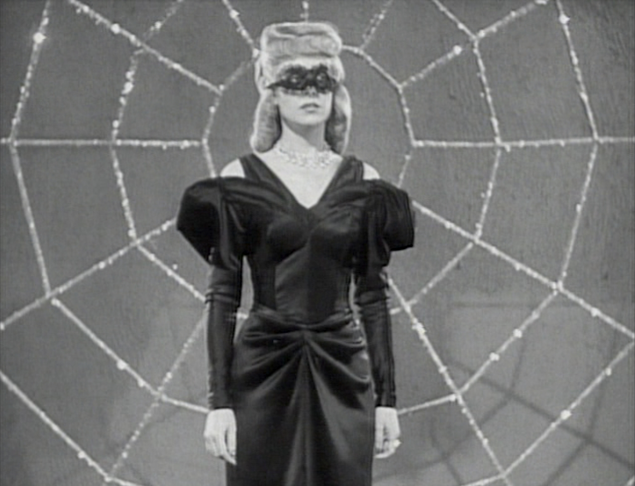 Carol Forman as The Spider Lady in Superman (1948)