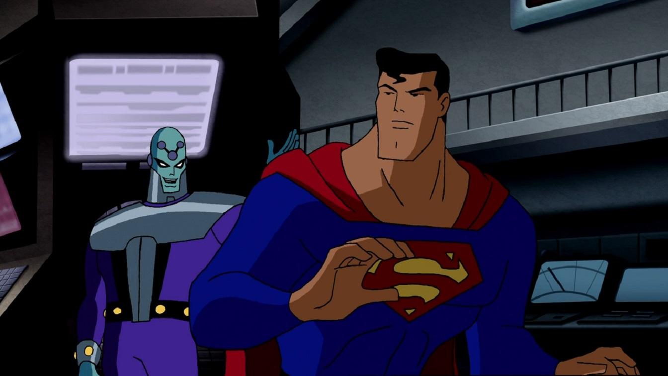 Superman and Brainiac in Superman Brainiac Attacks (2006)