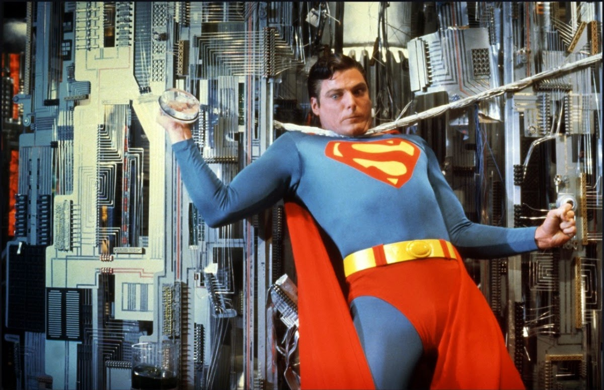 Superman (Christopher Reeve) vs a malevolent AI in Superman III (1983)