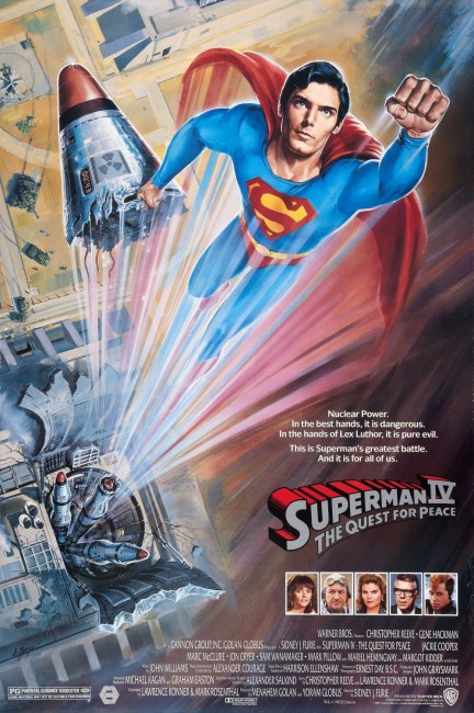 Superman IV The Quest for Peace (1987) poster