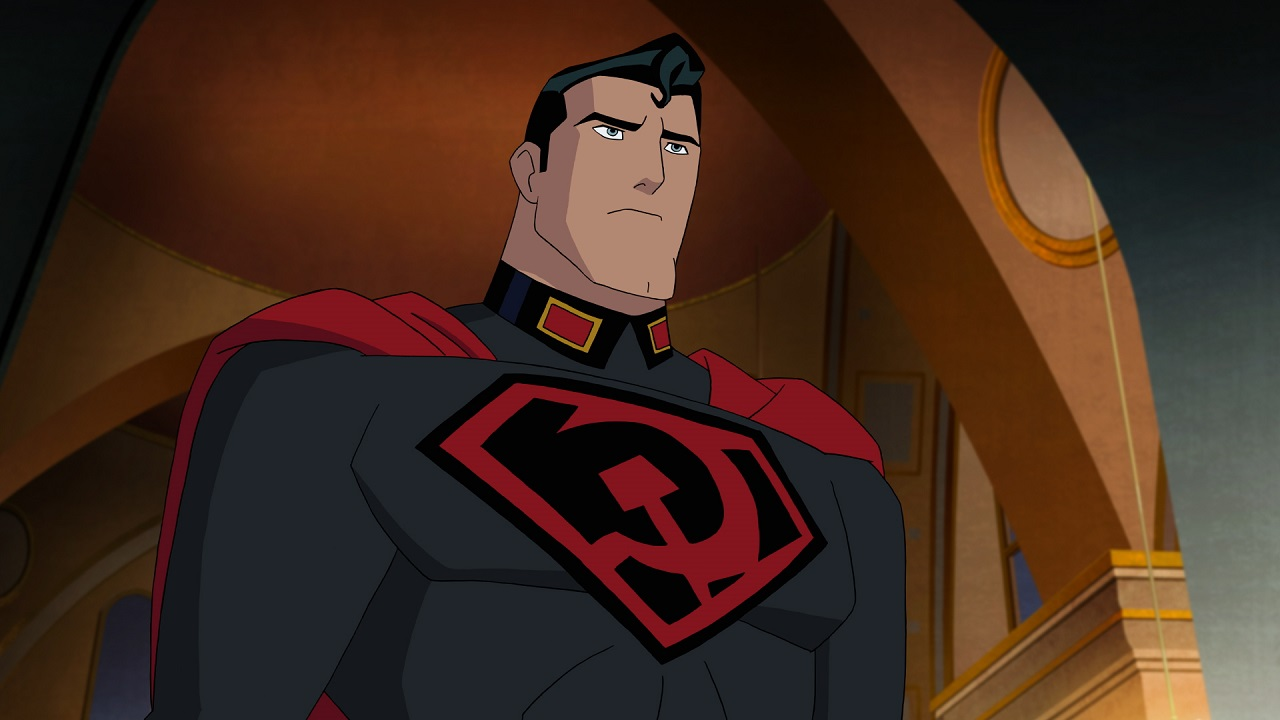 The Soviet Superman (voiced by Jason Isaacs) in Superman: Red Son (2020)