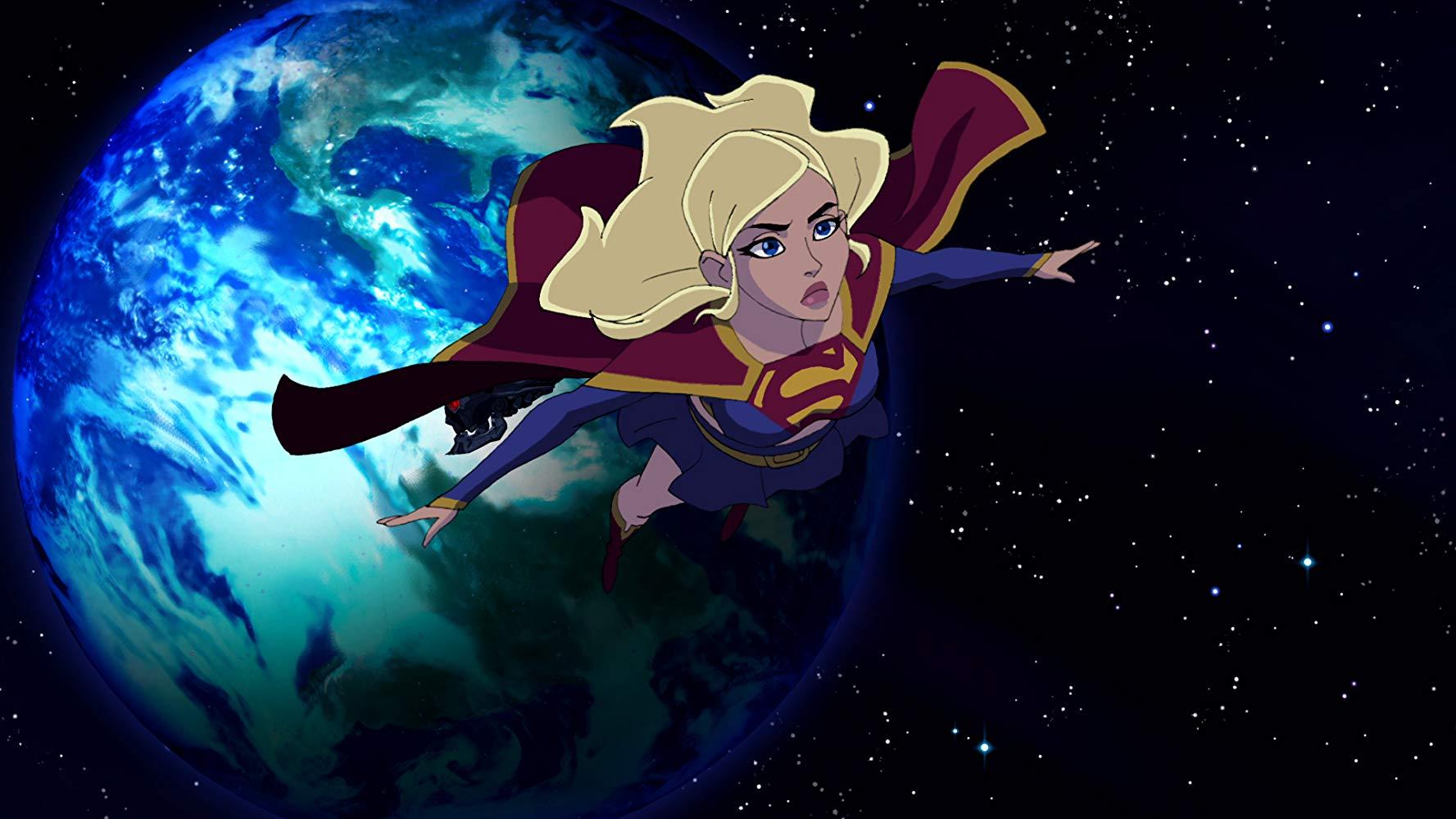 Supergirl in Superman Unbound (2013)