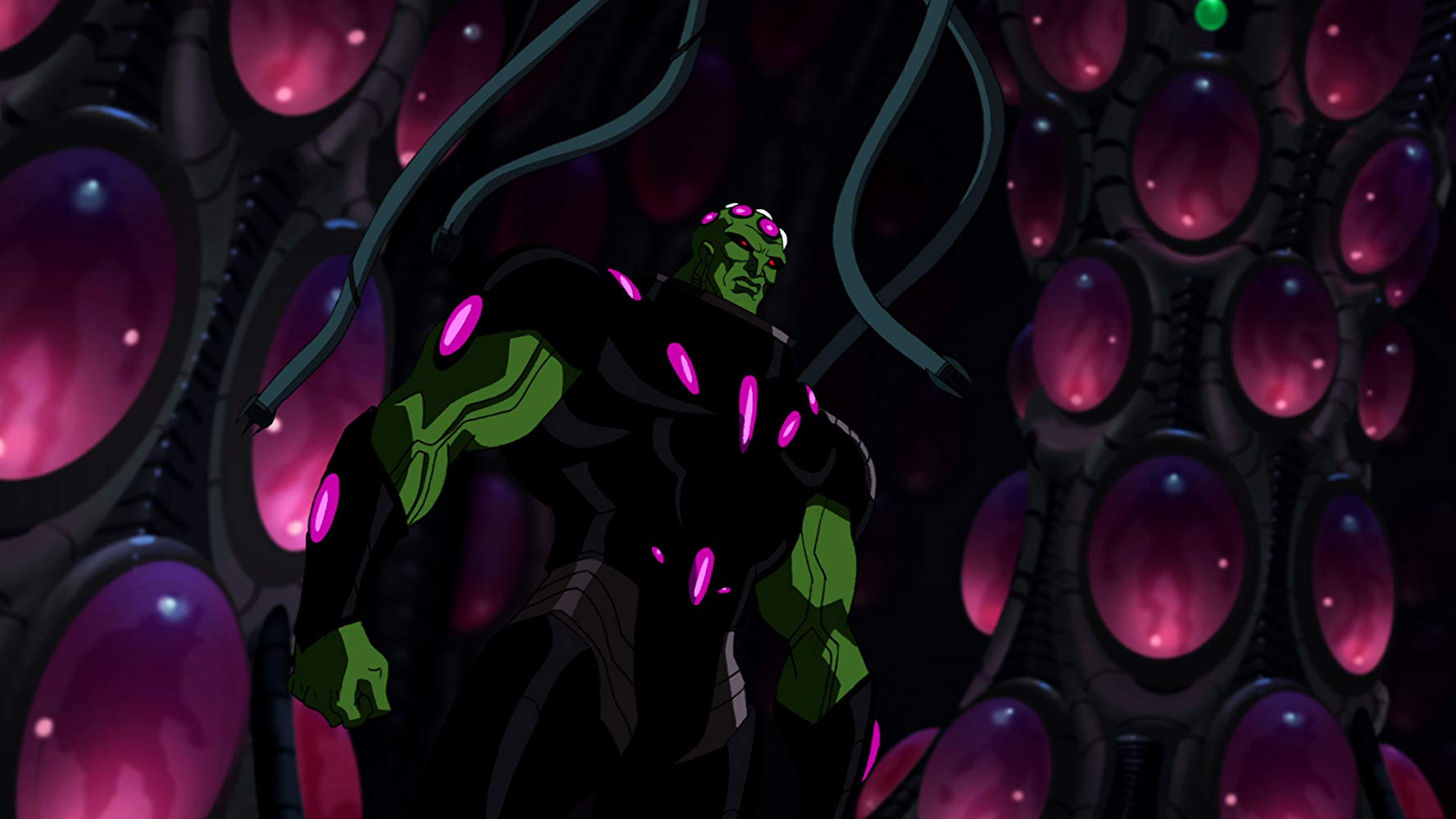 Brainiac in Superman Unbound (2013)