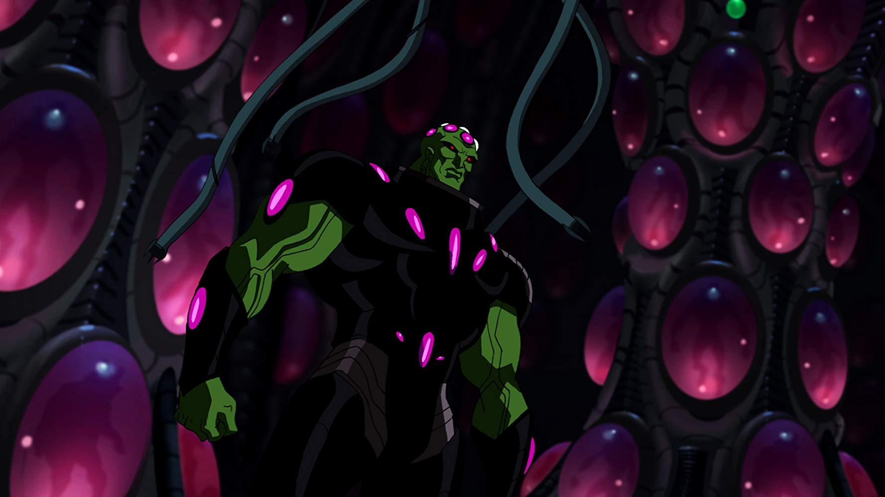 Brainiac in Superman Unbound (2013)
