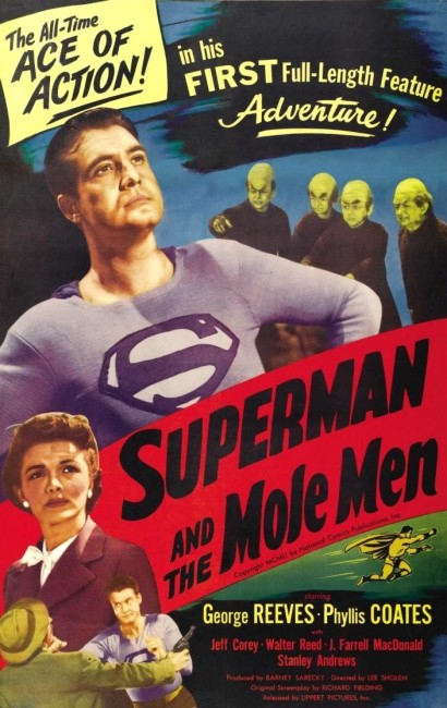 Superman and the Mole-Men (1951) poster