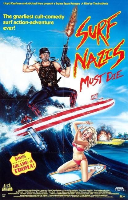 Surf Nazis Must Die (1987) poster