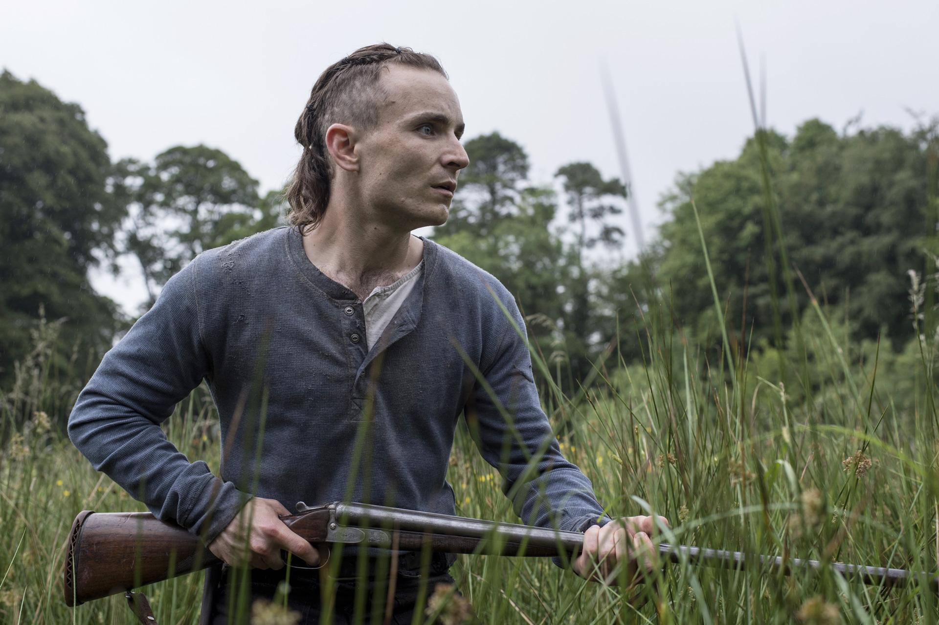 Martin McCann as The Survivalist (2015)
