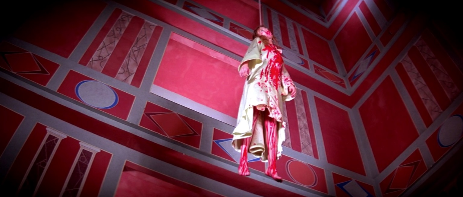 Extravagantly arty deaths in Suspiria (1977)