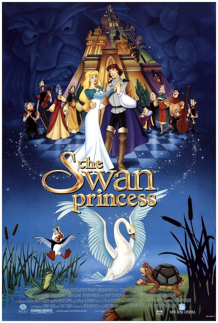 The Swan Princess (1994) poster