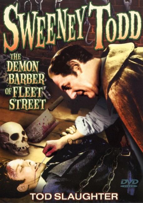 Sweeney Todd, The Demon Barber of Fleet Street (1936) poster