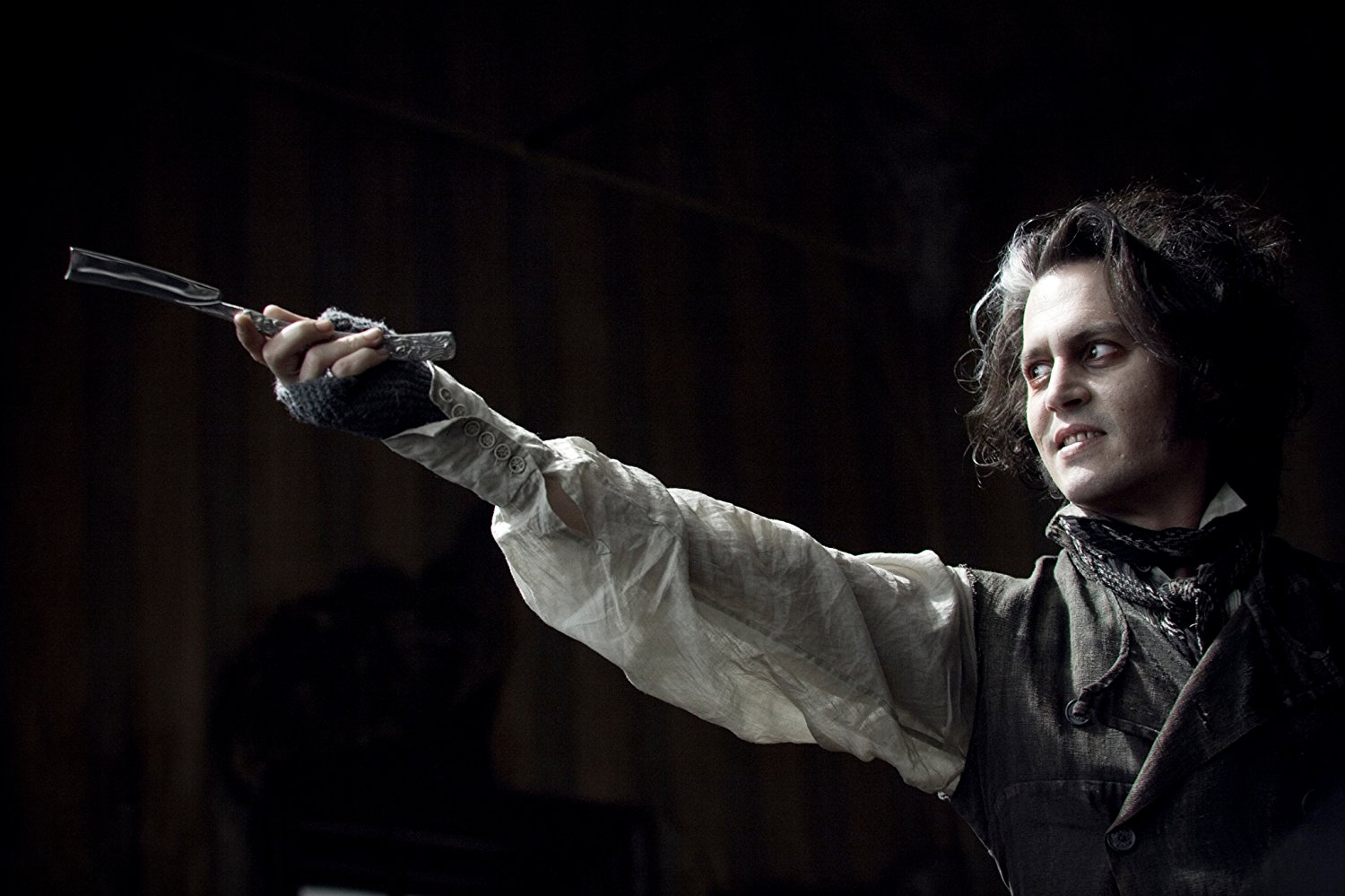 Johnny Depp as Sweeney Todd: The Demon Barber of Fleet Street (2007)