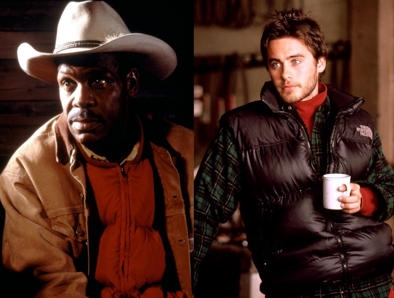 Danny Glover, Jared Leto in Switchback (1997)