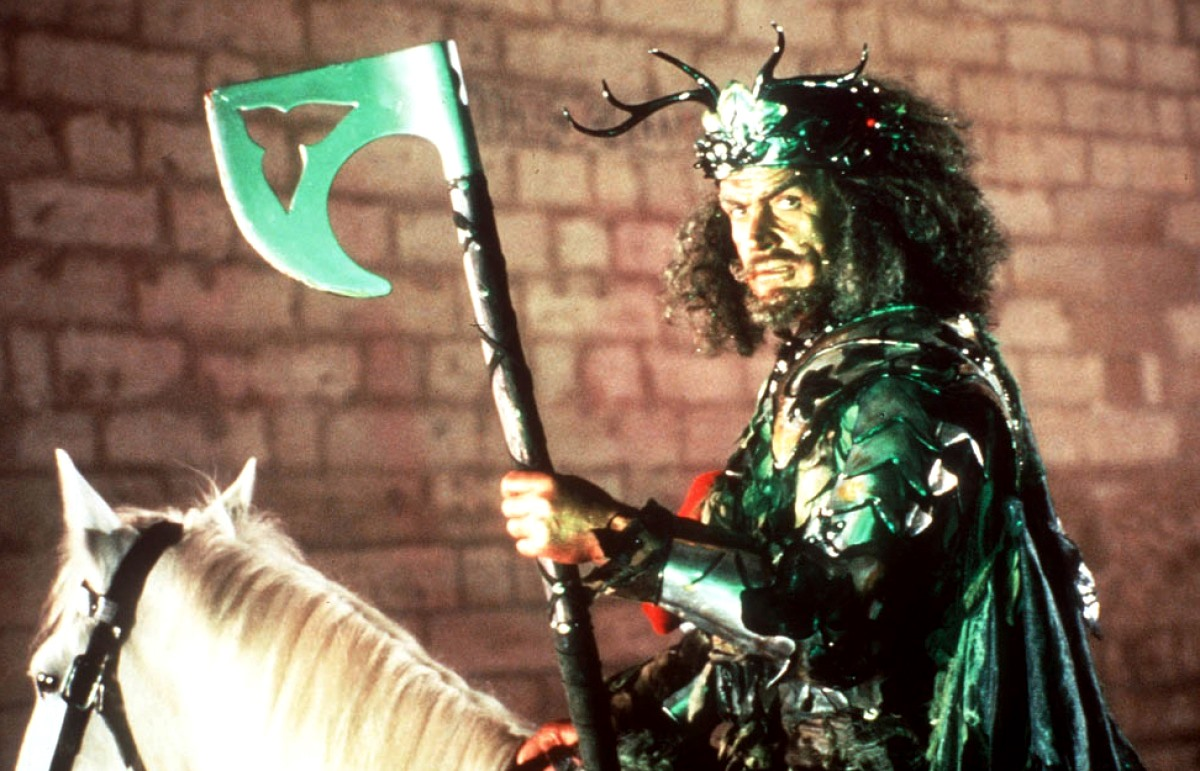 Sean Connery as The Green Knight in Sword of the Valiant: The Legend of Sir Gawain and the Green Knight (1984)