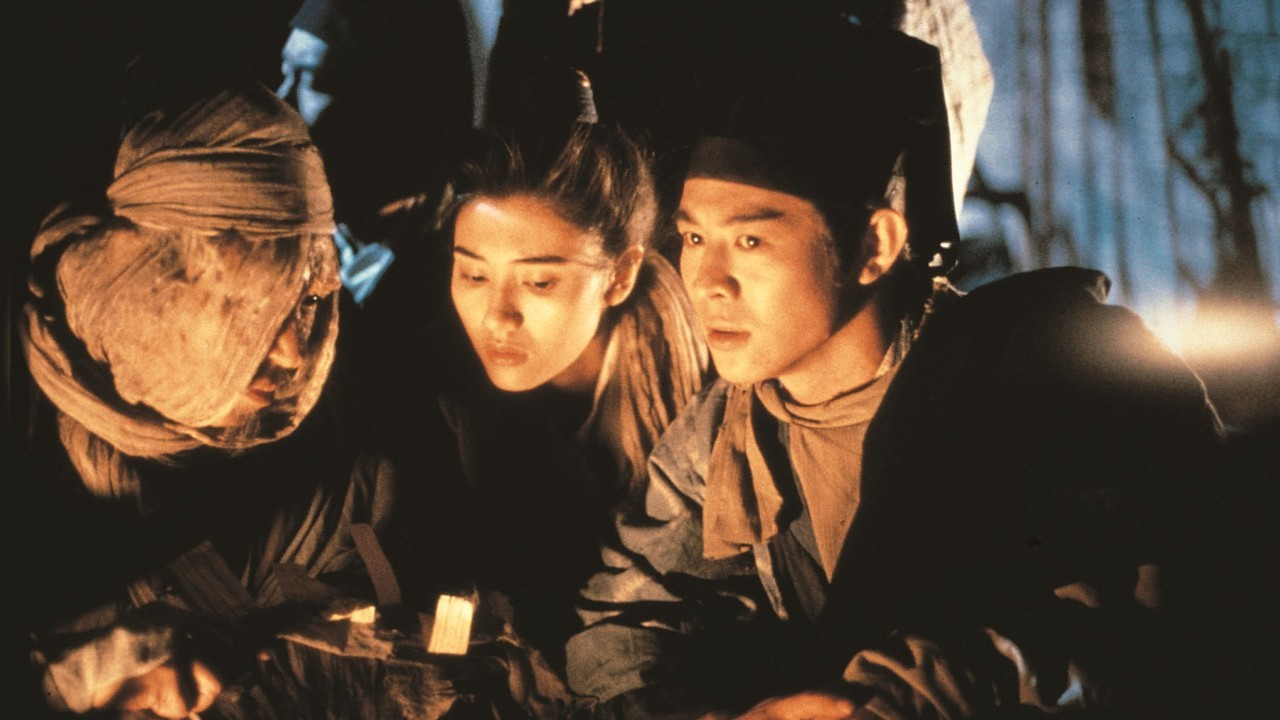 Jet Li and Michelle Reis in Swordsman II (1992)