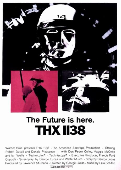 THX 1138 (1971) poster