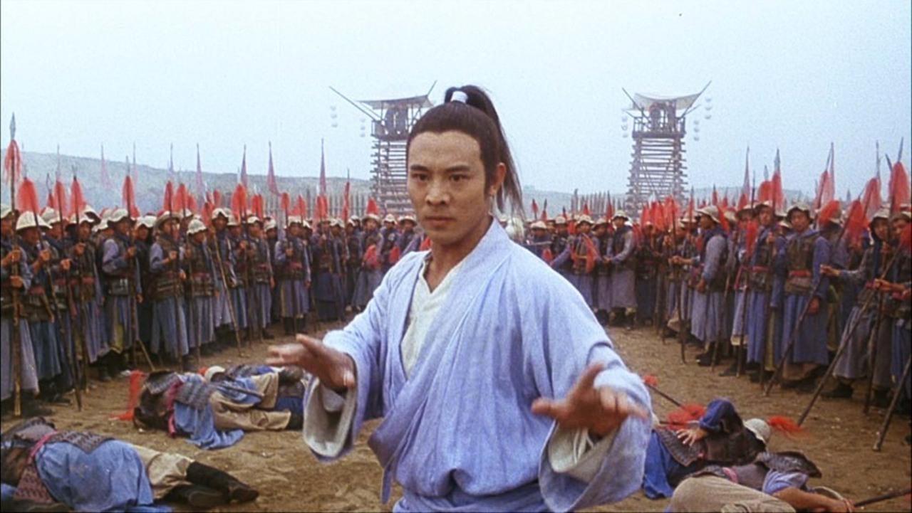Jet Li vs an entire army in The Tai Chi Master (1993)