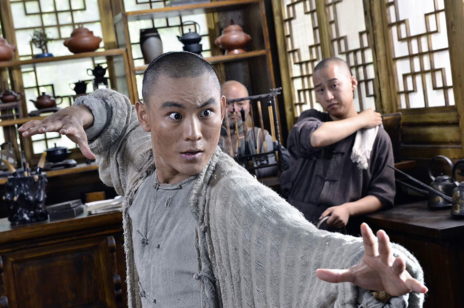 Jayden Yuan as Lu Chan aka The Freak in Taichi Zero (2012)
