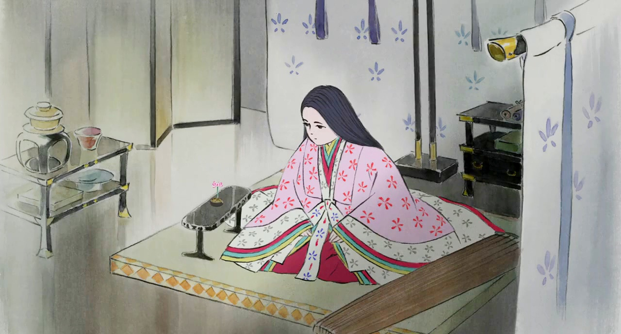 Princess Kaguya in The Tale of the Princess Kaguya (2015)
