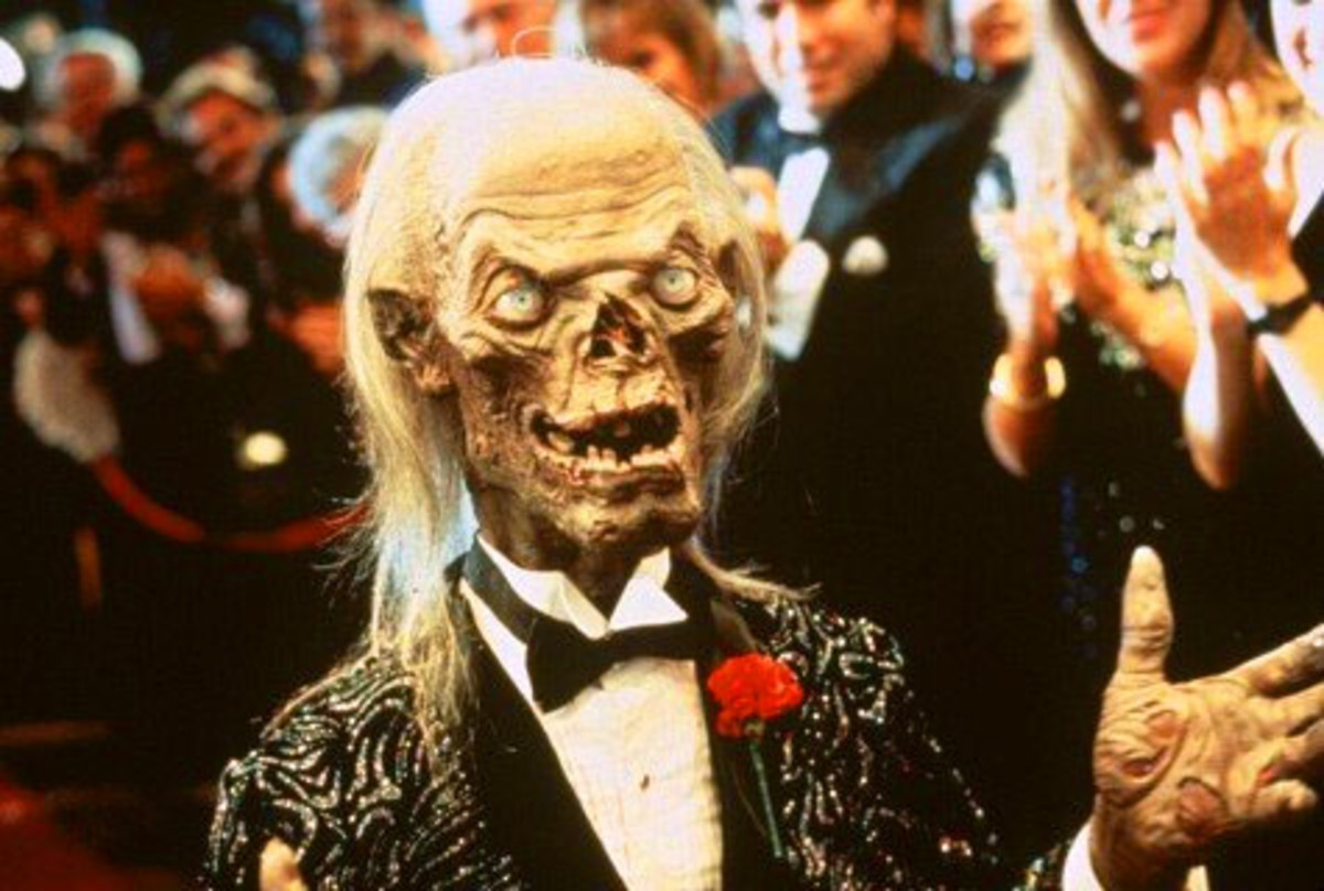 The Crypt Keeper at the premiere of his film in Tales from the Crypt Presents Demon Knight (1995)