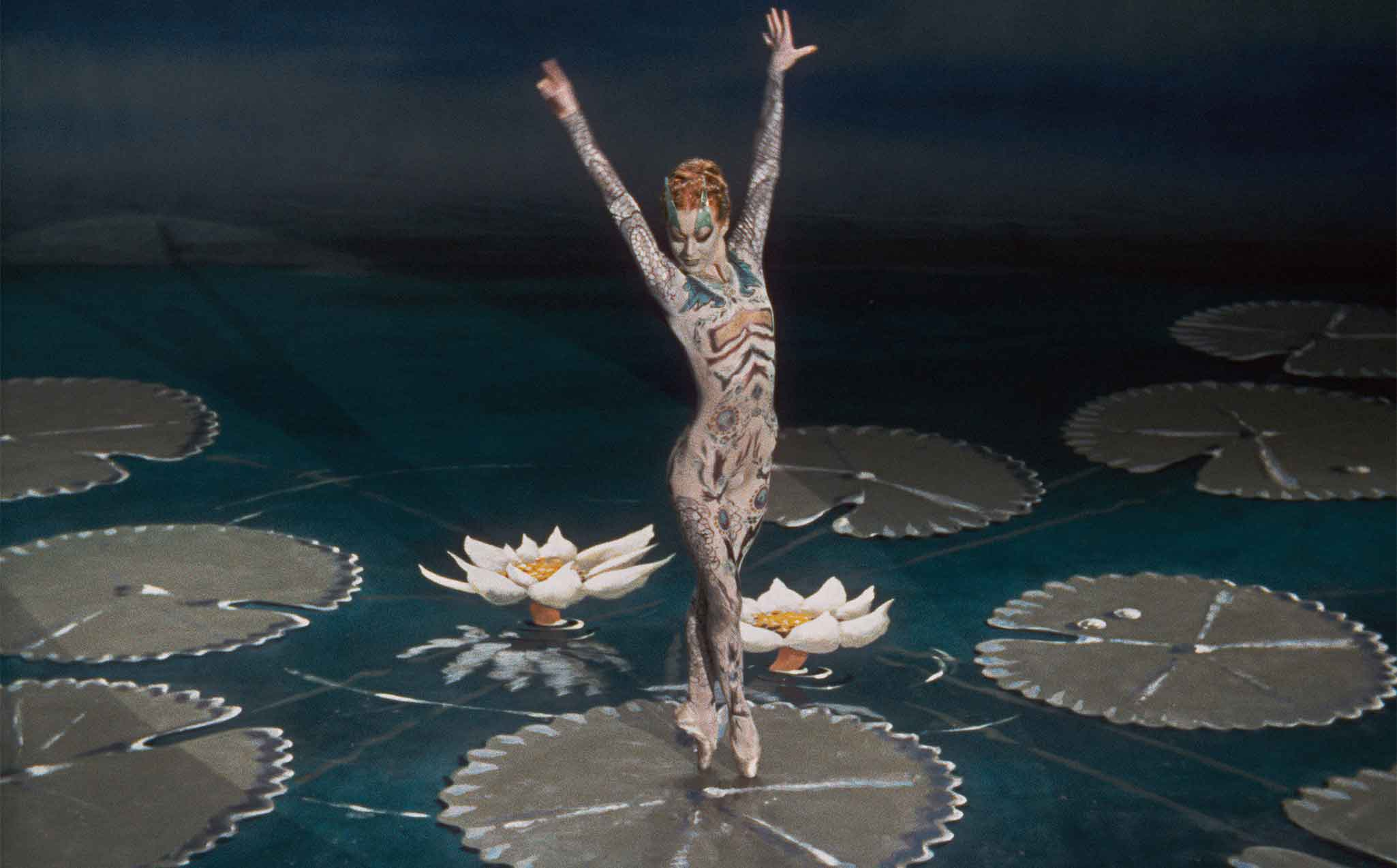 Moira Shearer dancing in the prologue of The Tales of Hoffmann (1951)