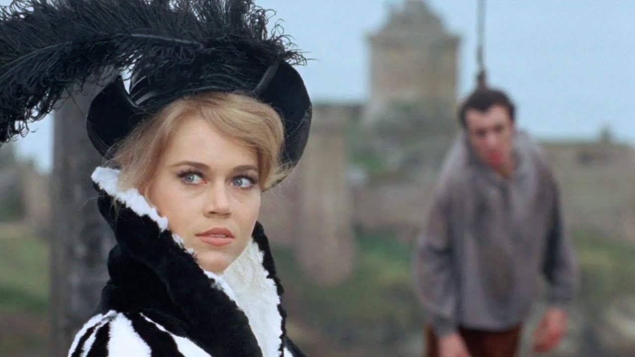 Jane Fonda as a cruel aristocrat in the Metzengerstein episode of Tales of Mystery and Imagination (1968)