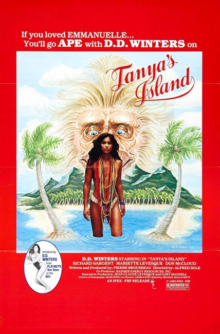 Tanya's Island (1980) poster