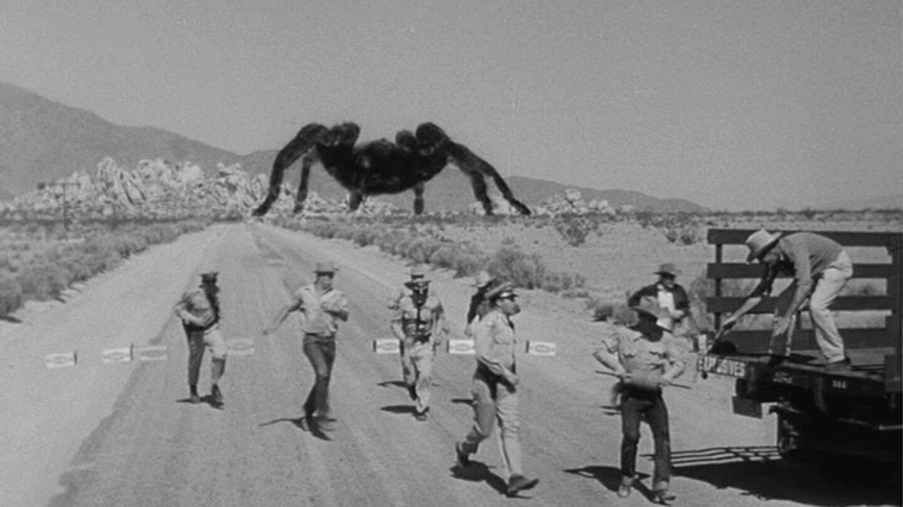 The giant tarantula  in Tarantula (1955)