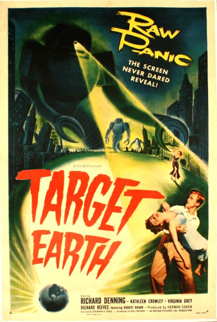 Target Earth (1954) poster