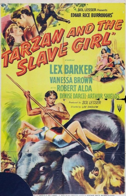 Tarzan and the Slave Girl (1950) poster