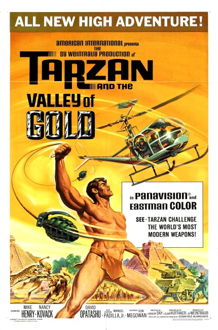 Tarzan and the Valley of Gold (1966) poster