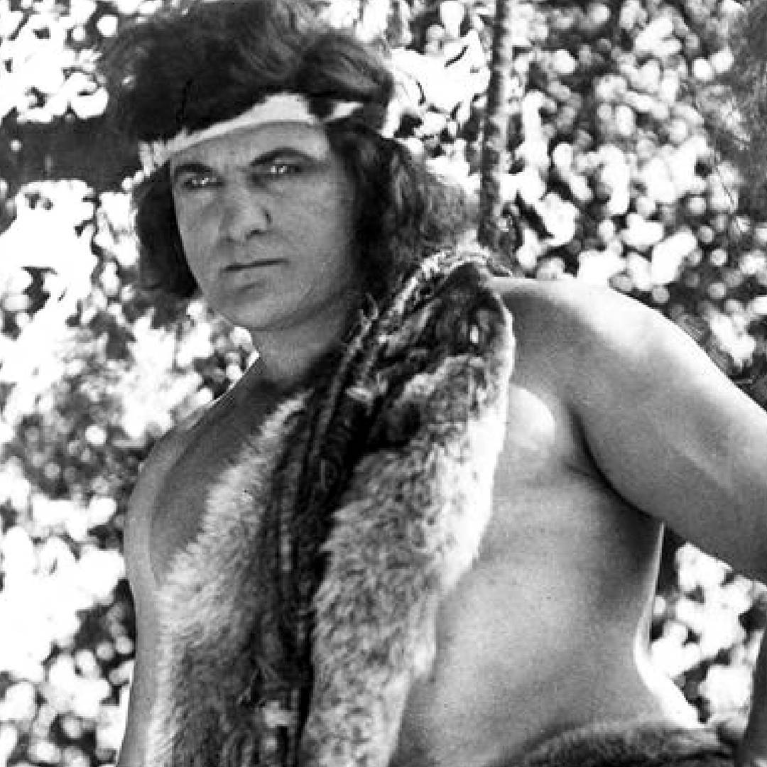 Elmo Lincoln as Tarzan of the Apes (1918)