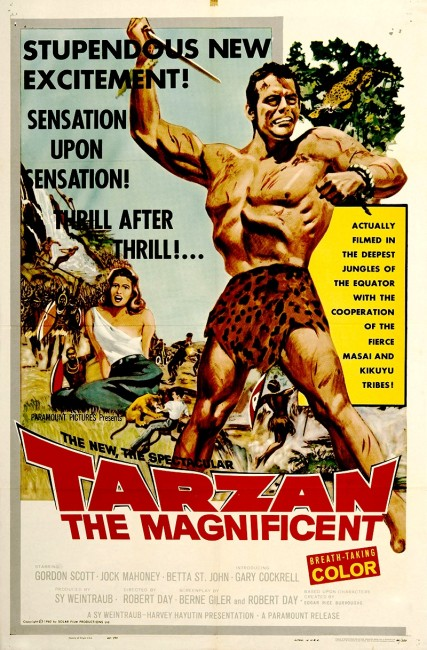Tarzan the Magnificent (1960) poster