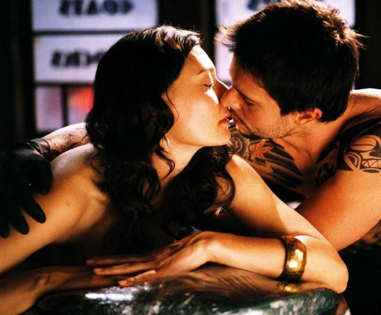 Jason Behr and Mia Blake in The Tattooist (2007)