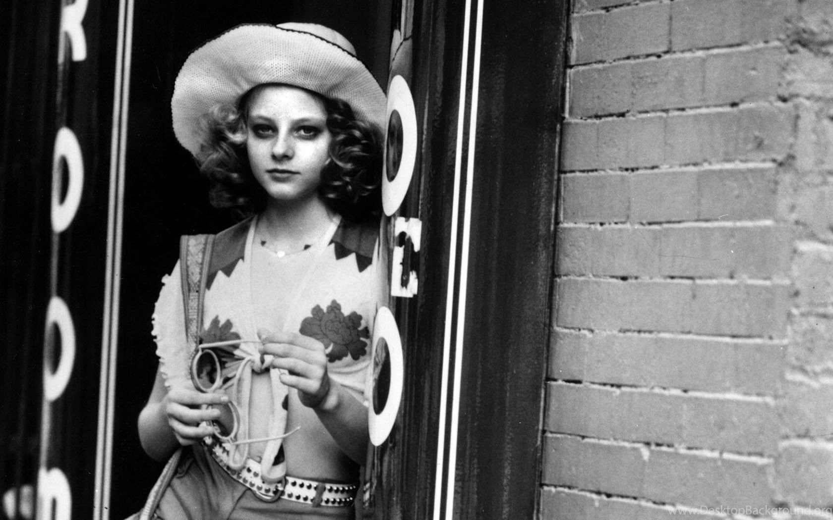 A twelve-year old Jodie Foster as the prostitute Iris in Taxi Driver (1976)
