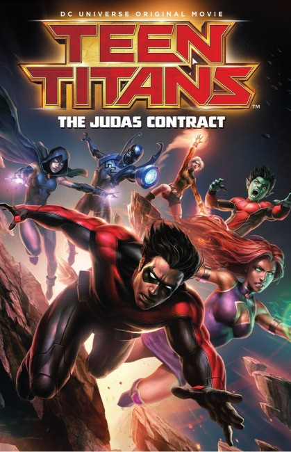 Teen Titans The Judas Contract (2017) poster