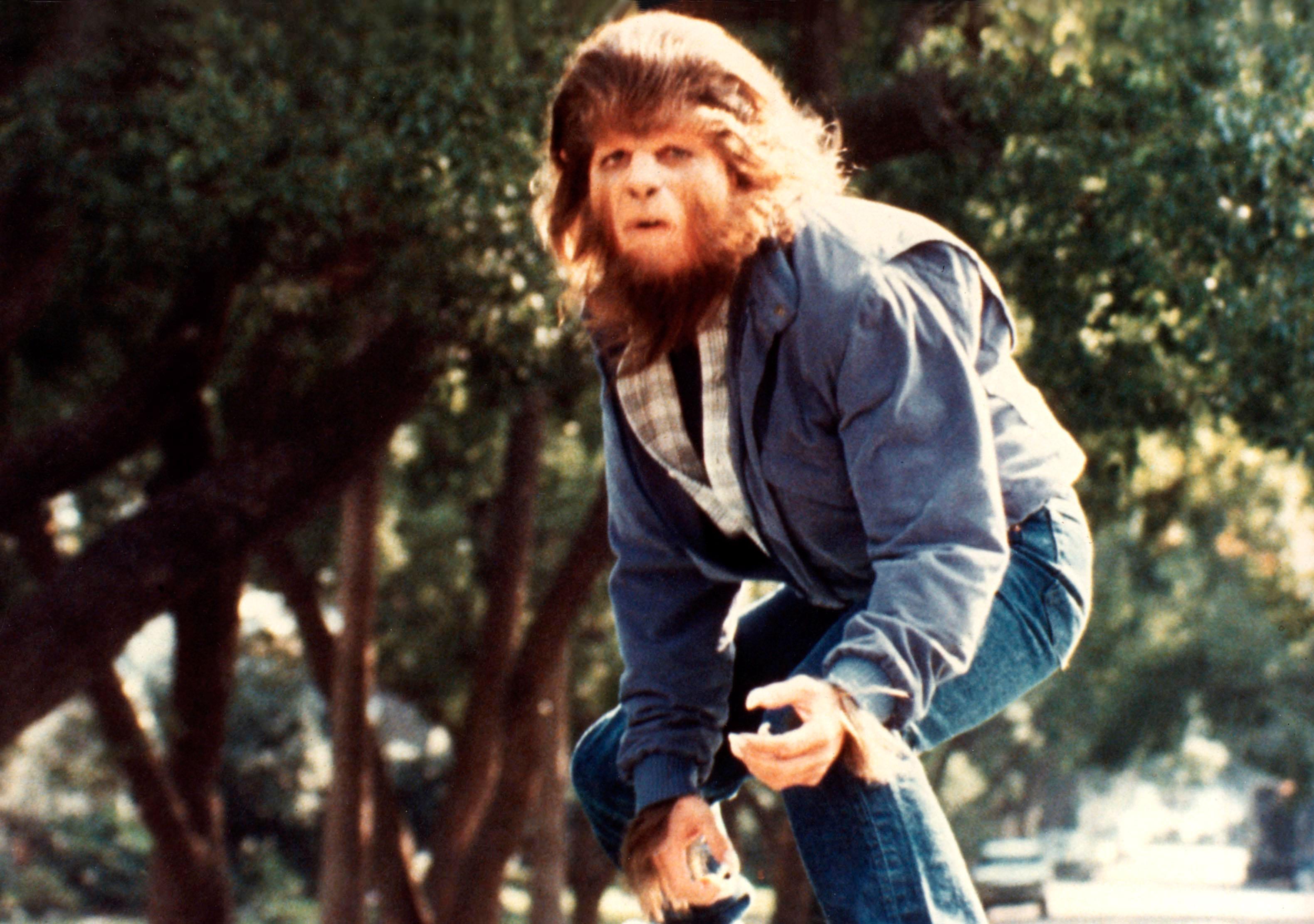 Michael J. Fox as a werewolf in Teen Wolf (1985)