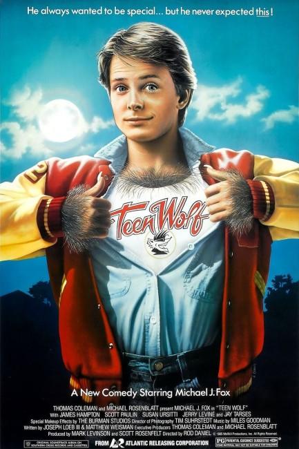 Teen Wolf (1985) poster